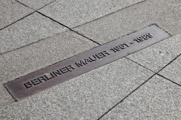 Berliner Mauer - Markierung
