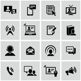 Communication icons set.