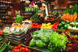 Fototapeta rynek - sklep spożywczy - Na zakupach