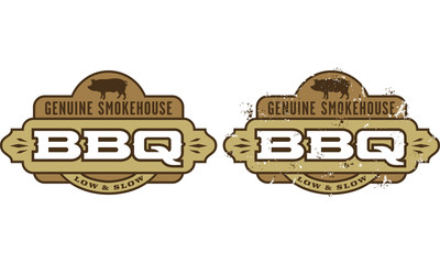 Genuine Smokehouse Barbecue Symbol