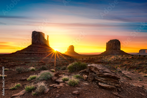 Fototapety, obrazy : Monument Valley