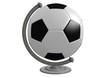 Fussball als Globus
