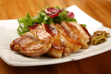 Japanese Style Roasted Duck