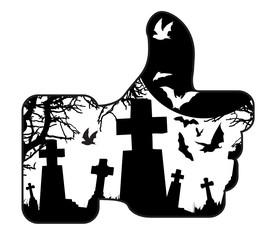 HALLOWEEN - RIP les reseaux sociaux, les avatars