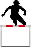 Fototapeta sport - noga - Lekkoatletyka