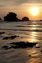 Playa de Biarritz, Pirineos Atlanticos, Aquitania, Francia
