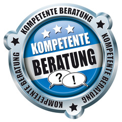 Kompetente Beratung - Button