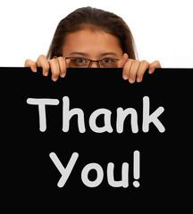 Thank You Message To Show Gratitude