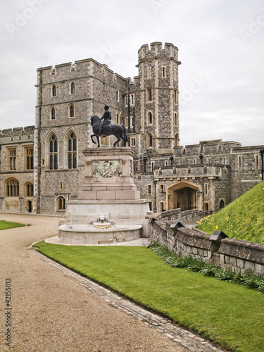 Windsor Castle Statue