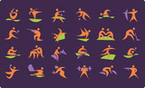 symbols of summer Olympic sports