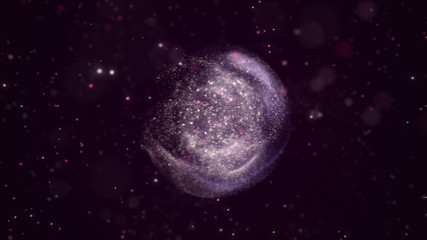 Bubble of abstract matter