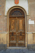 Italy Comacchio village very old door