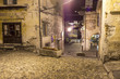 Orta down to the square by night 2 color image