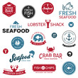 Seafood labels - 42163072