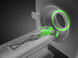 MRI examination made in 3D