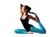 yoga posing