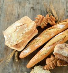 Varietà di pane - mix of italian bread