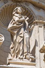 Church of St. Irene. Lecce. Puglia. Italy.