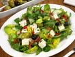 Blattsalat mit Feta Käse