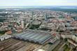Leinwandbild Motiv Luftaufnahme Leipzig