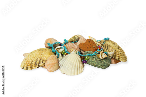 Sea shells and stones, chaplet