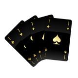 Black Glossy Cards