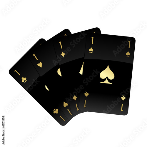 Black Glossy Cards