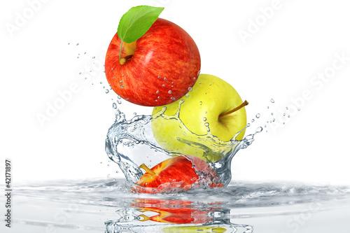 Foto op Canvas Opspattend water Obst 346
