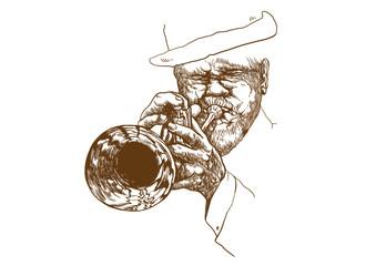 playing jazz (this is original sketch)