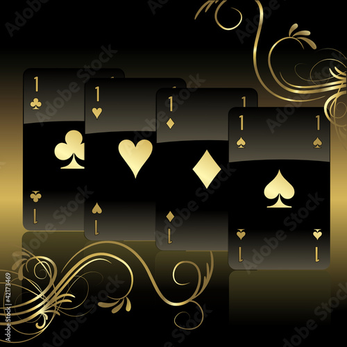 Elegant Cards Background