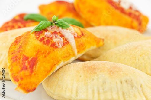 calzone stuffed