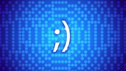 smile concept, emoticon