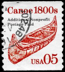 USA - CIRCA 1991 Canoe