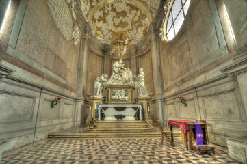 Basillica di San Giustina Altar, Padova, Italy