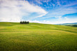 Scenic natural landscape in Tuscany, Italy