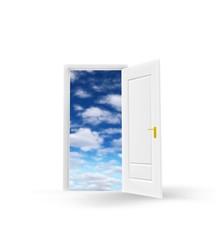 ドアの向こうの空