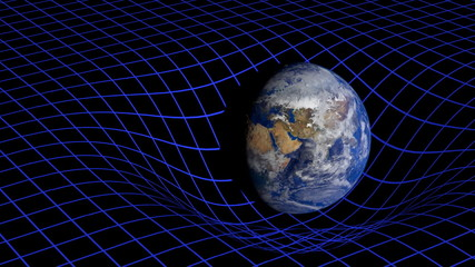 curvature of space-time