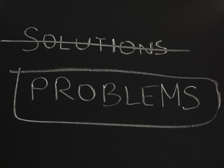No solutions, only problems