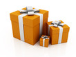 gift boxes.