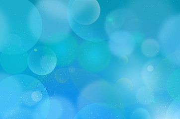 Blue background Flarium Bubbles 11