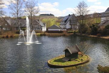 Sauerland, Kloster Grafschaft, Klostergarten
