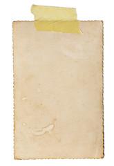 vintage postcard paper