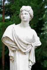 Greek god sculpture
