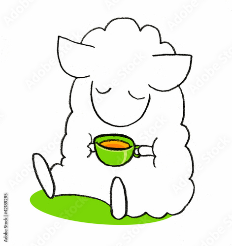 sheep-tea-rest