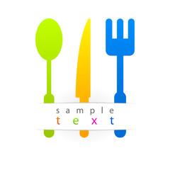 multicolored kitchen set.