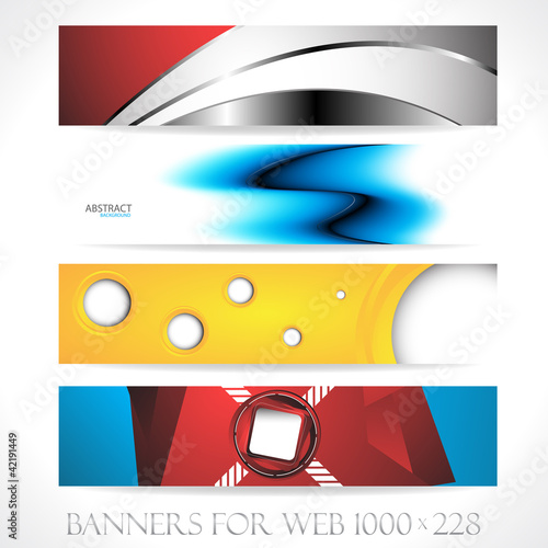 Banners for web (Vector collection7)