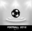 football grunge light ball