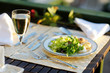 Delicious lettuce plate