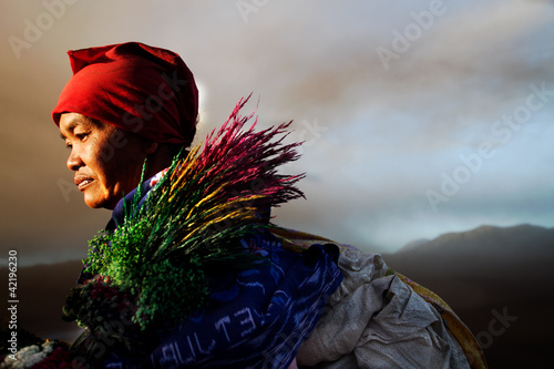 Fototapeten,berg,indonesia,ausbruch,aktiv