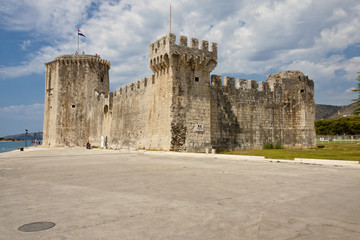 View on Kamerlengo  castle - Trogir